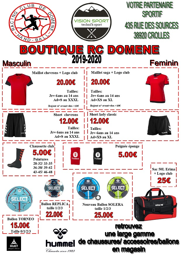 boutique RCD 2019